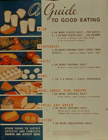 Old Government Suggested Servings
